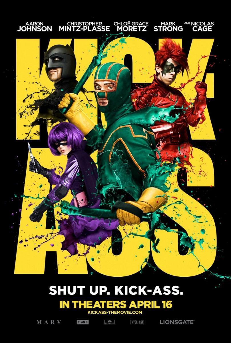Kick-Ass – Un superhéroe sin super poderes (2010) ()