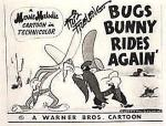 Bugs Bunny Rides Again (S)