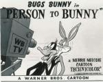 Person to Bunny (C)