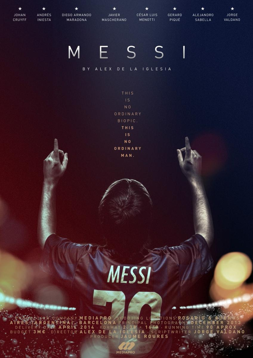 Messi | 2014 | DVDrip | Latino | Mega | Uptobox