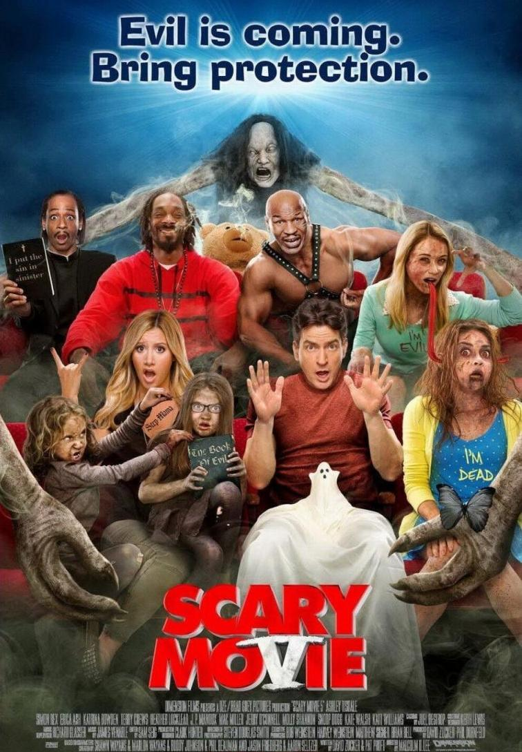 Scary Movie 5: El mal ya viene (2013) 1 LINK HD Uptobox ()