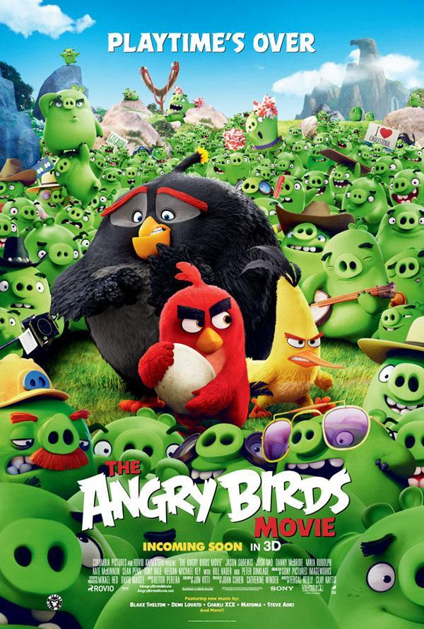 Angry Birds: La Pelicula (2016)(Audio Latino)(HD720p-Online)