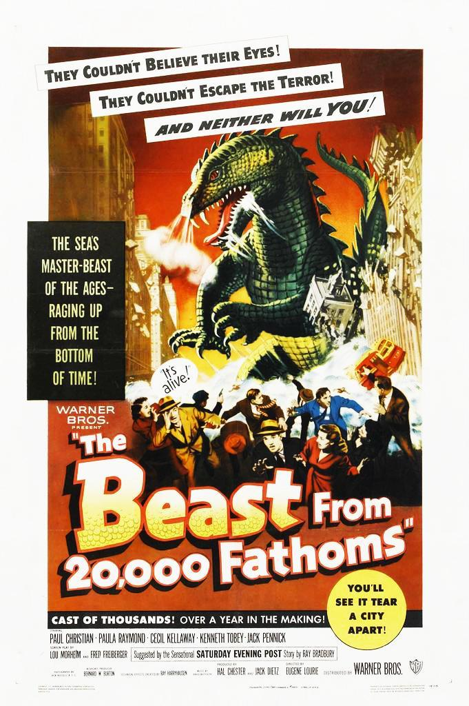 The Beast From 20 000 Fathoms Them Double Feature Movie free download HD 720p