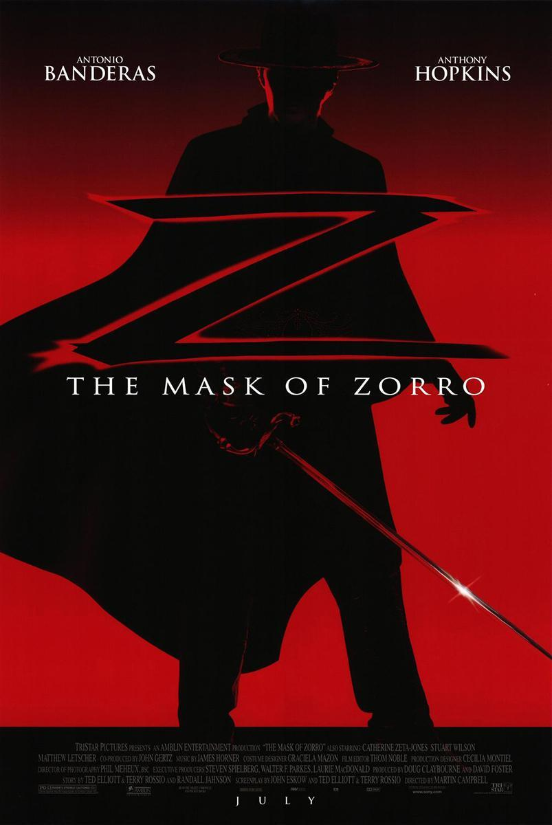 The Mask of Zorro [1998][Latino]