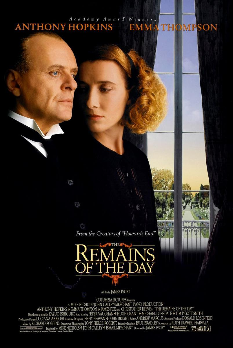 image gallery for the remains of the day filmaffinity