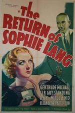 The Return of Sophie Lang