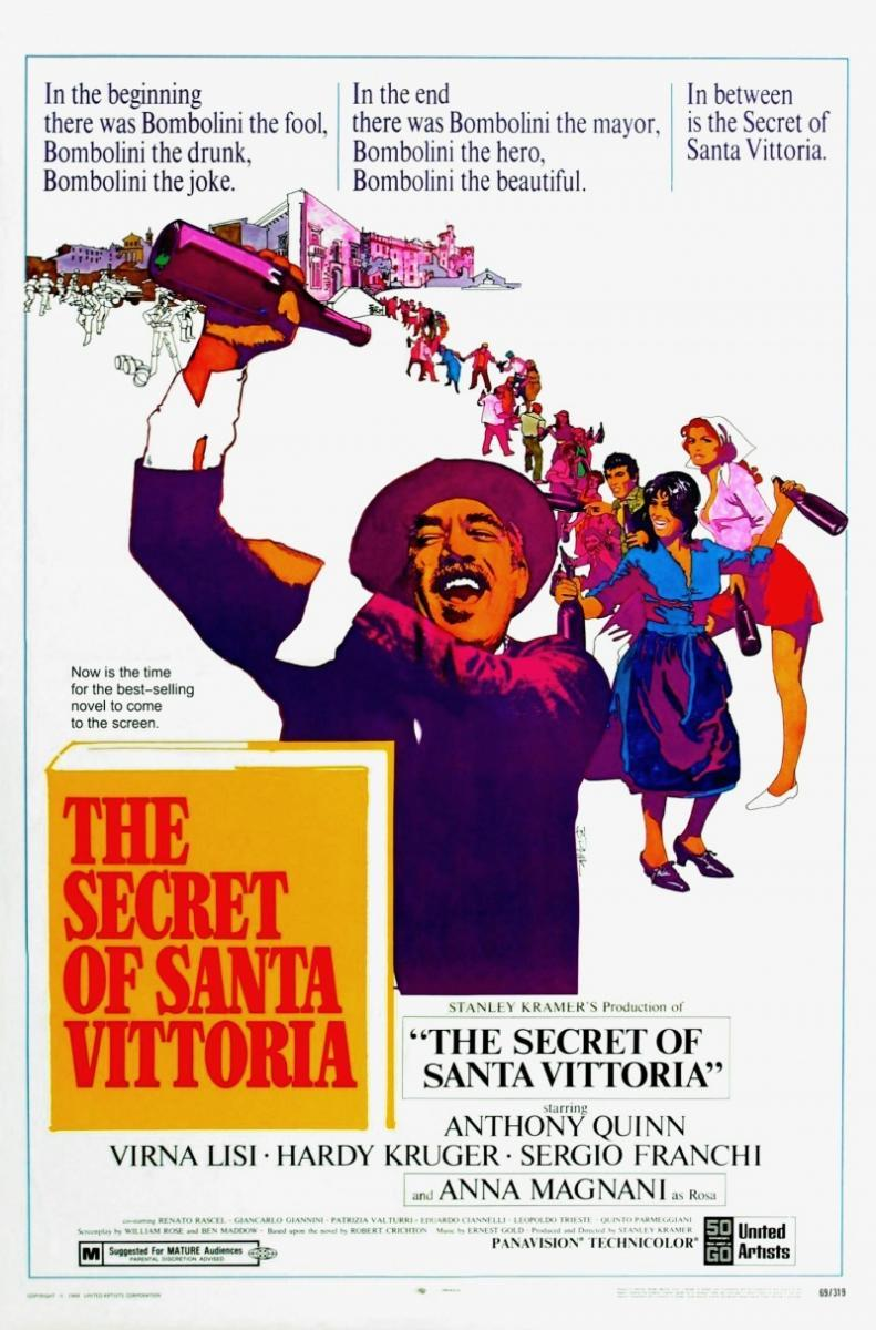 The secret of santa vittoria 1969 dvd