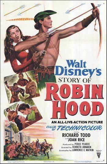 ROBIN HOOD AND HIS MERRIE MEN, DEAN'S CLASSICS, c1950 - 60's, HARDBACK