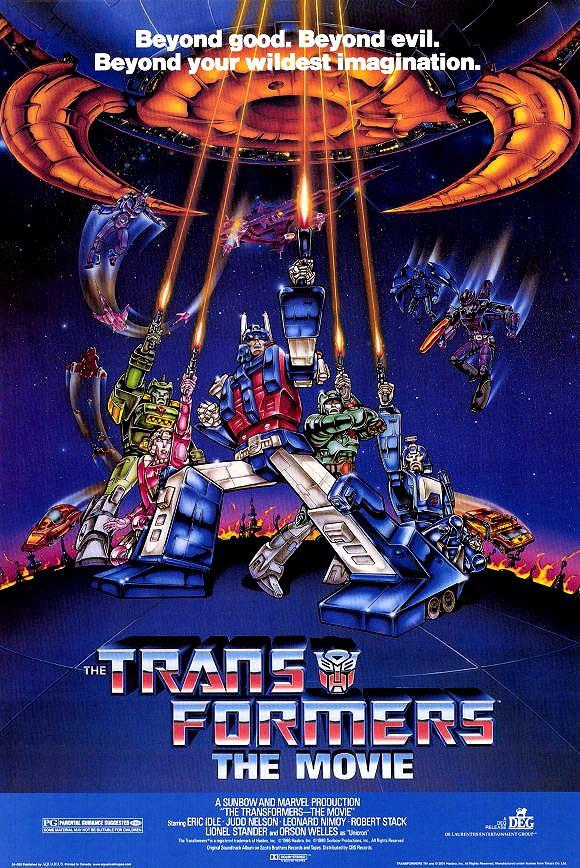 The transformers the movie poster