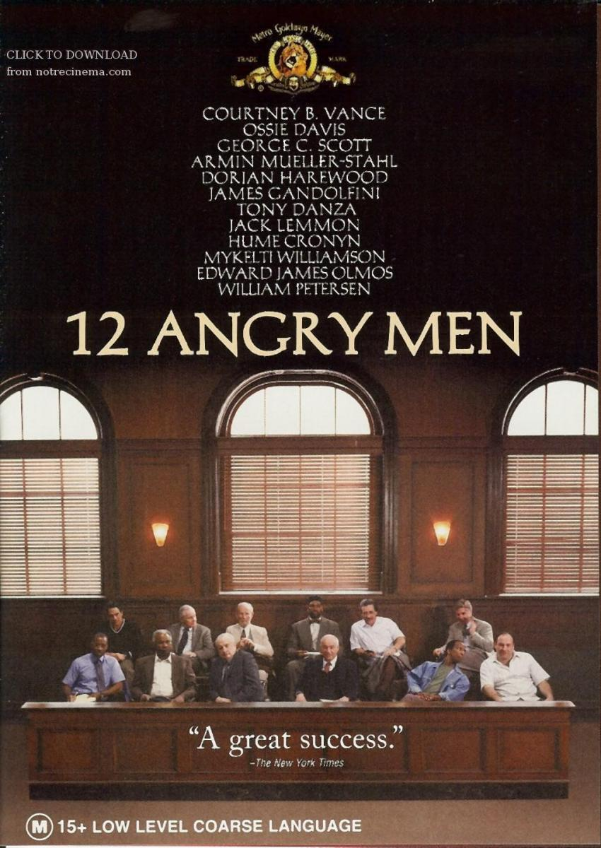 twelve angry men philosophy Essays - largest database of quality sample essays and research papers on subjective relativism 12 angry men.