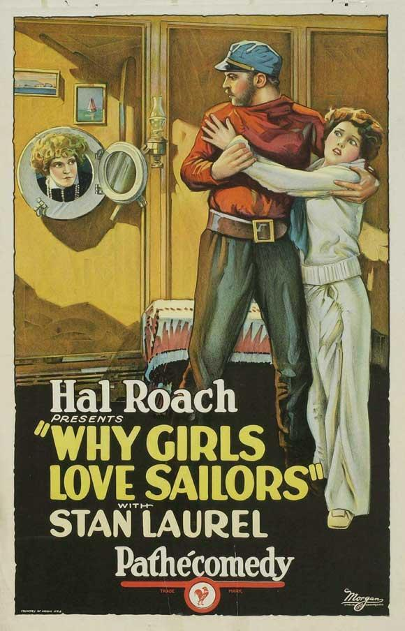 Stan Laurel & Oliver Hardy - Why Girls Love Sailors | 1927
