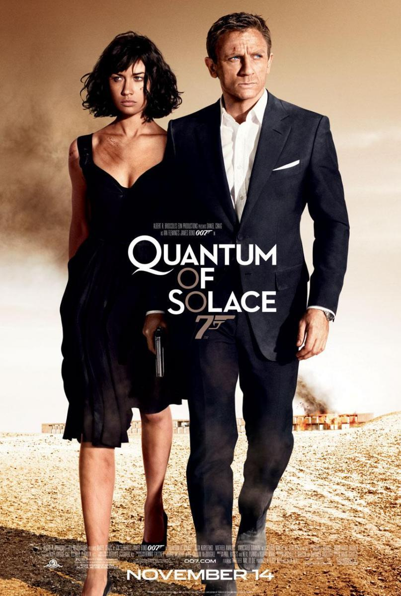 007: Quantum of Solace (DVDRip Latino) 2008
