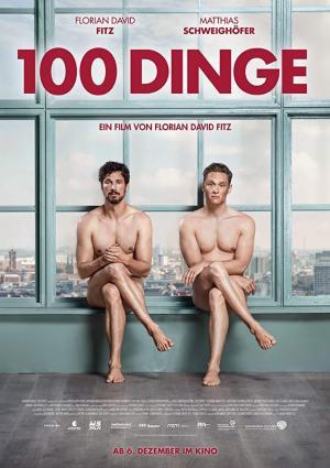 póster de la película cómica 100 cosas