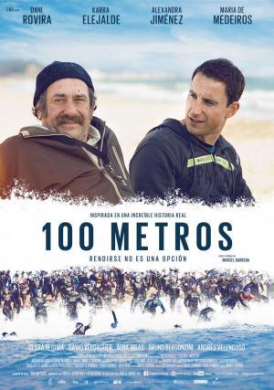póster de la película 100 metros