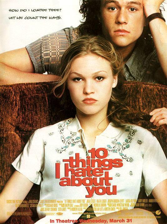 10 Cosas Que Odio De Ti 1999 Filmaffinity