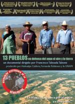 13 pueblos en defensa del agua, el aire y la tierra