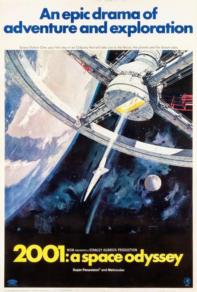 2001: Odisea del espacio (1968) HD MEGA