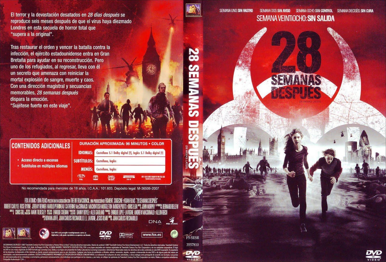 28 Semanas Despues 2007 Filmaffinity