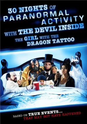 30 noches de actividad paranormal con el diablo adentro de la chica del dragón tatuado