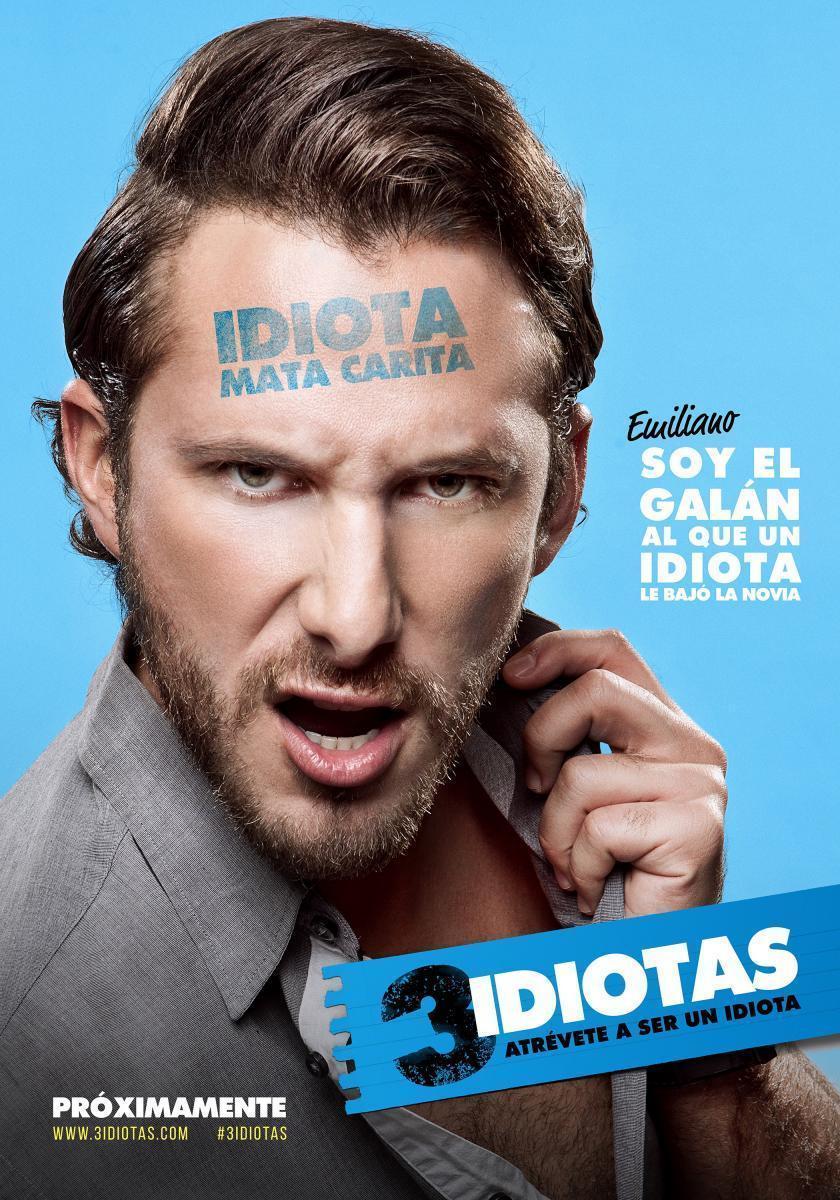 3 Idiotas (2017) [DVDRip] [Latino] [1 Link] [MEGA]