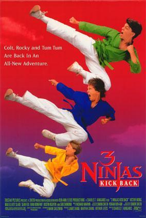 Tres pequeños ninjas 2 [1994][Latino][1080p][MEGA](Subida propia)