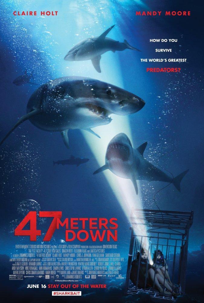 A 47 Metros (2017) [DVDRip][Subtitulada][MEGA]