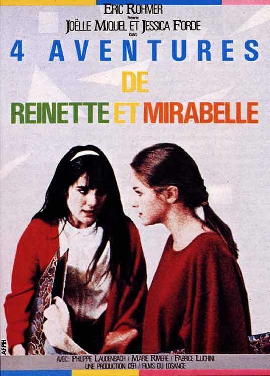 cuatro aventuras de reinette y mirabelle 1986 filmaffinity. Black Bedroom Furniture Sets. Home Design Ideas