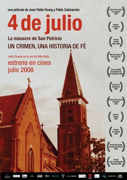 4 de julio la masacre de san patricio 2007 filmaffinity for Resumen de la pelicula la habitacion