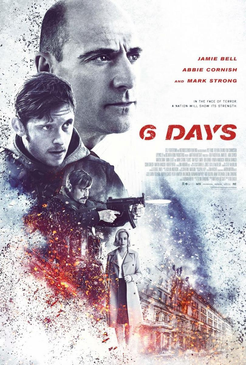 6 Días (BRRip Latino – Ingles 1080p) 2017