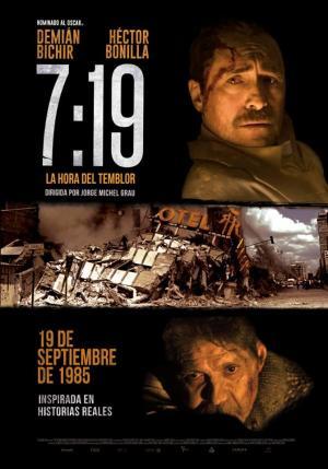 7:19, la hora del temblor