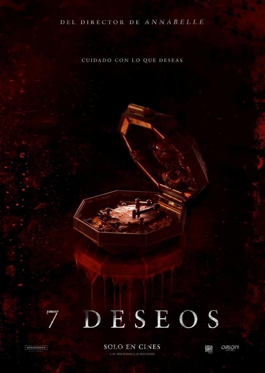 7 Deseos (DVDRip Latino) 2017