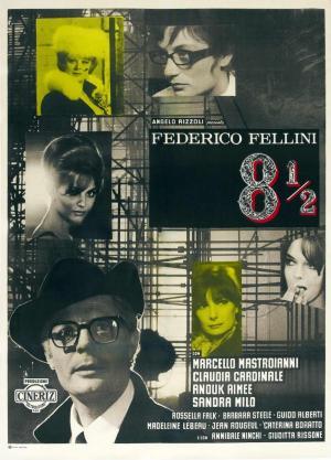 Fellini, ocho y medio (8½) (1963)