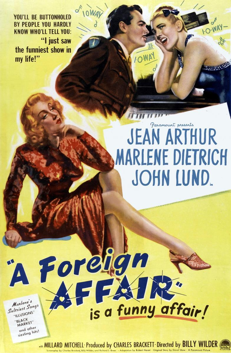 A Foreign Affair - Poster / Main Image
