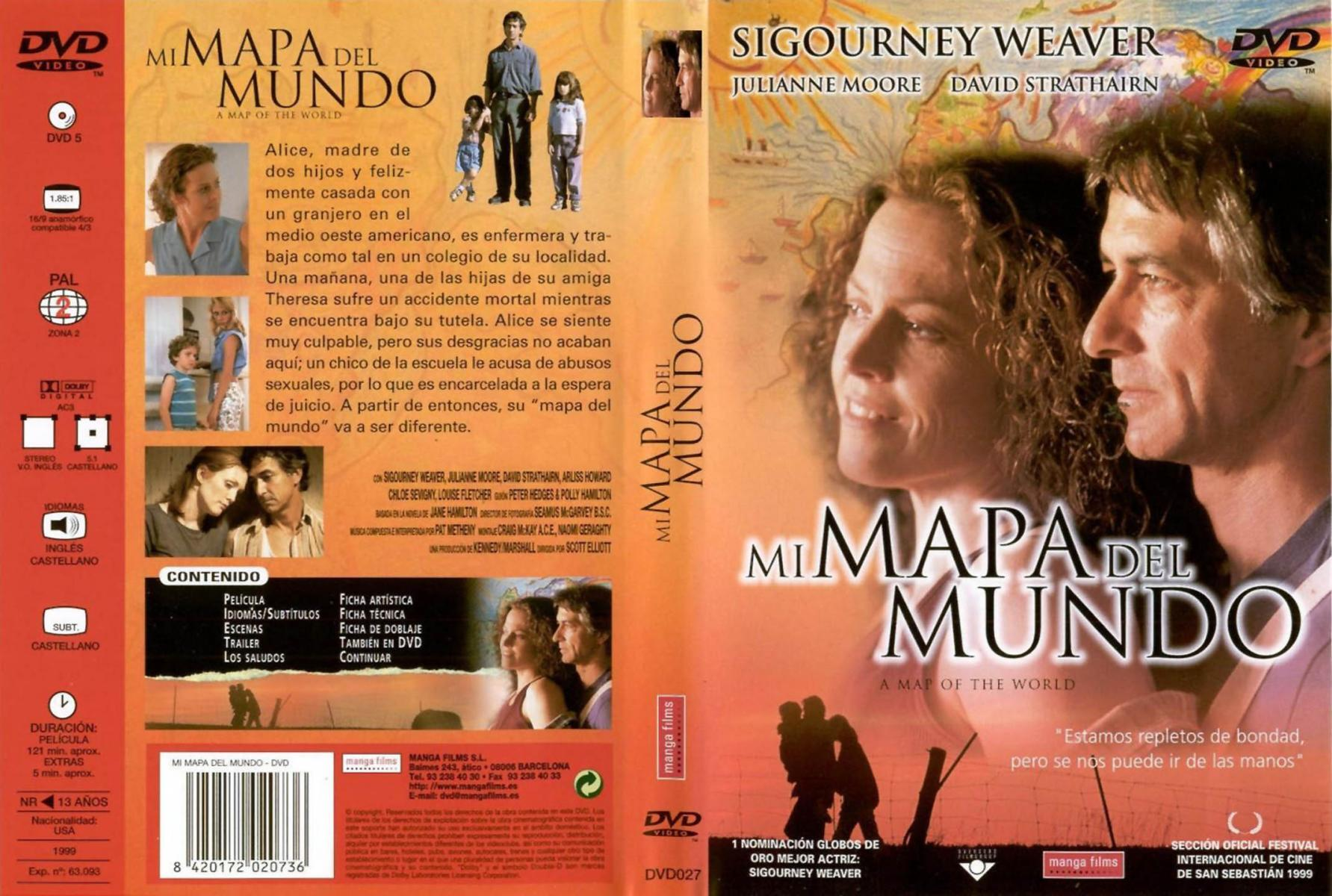 A Map of the World (1999) - Filmaffinity Sigourney Weaver A Map Of The World on huge wall maps of the world, sigourney weaver deal of the century, sigourney weaver the tv set, julianne moore movie a map of the world,