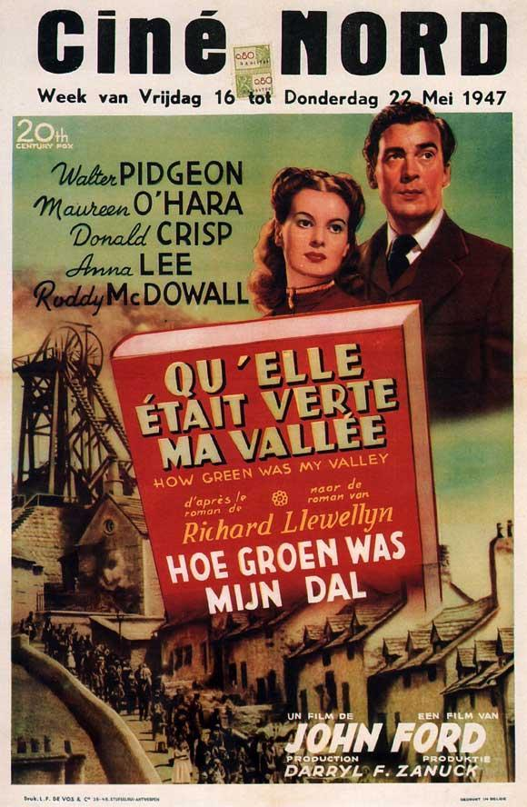 Qué Verde Era Mi Valle 1941 Filmaffinity