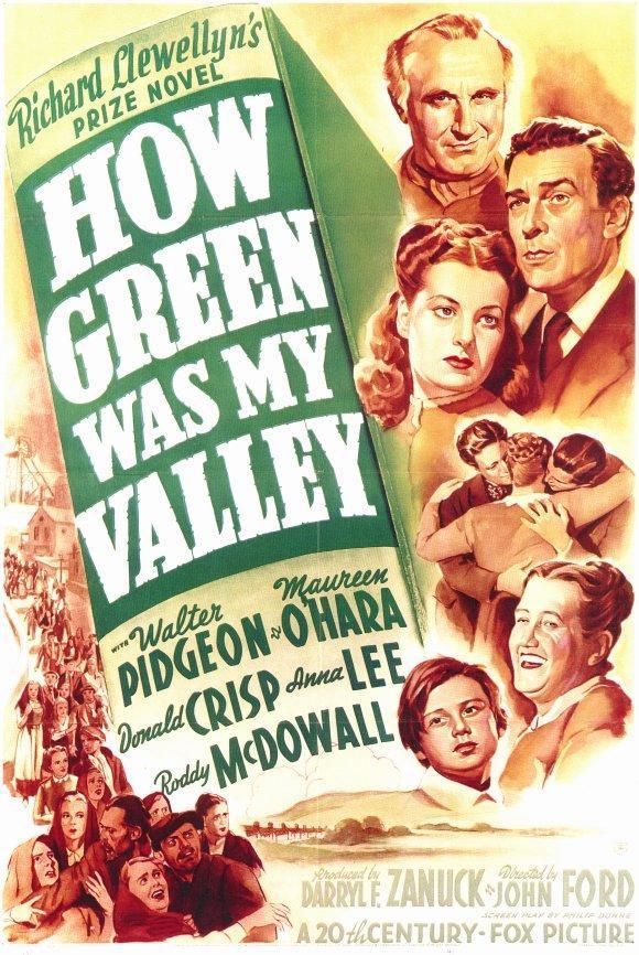 Resultado de imagen de qué verde era mi valle poster