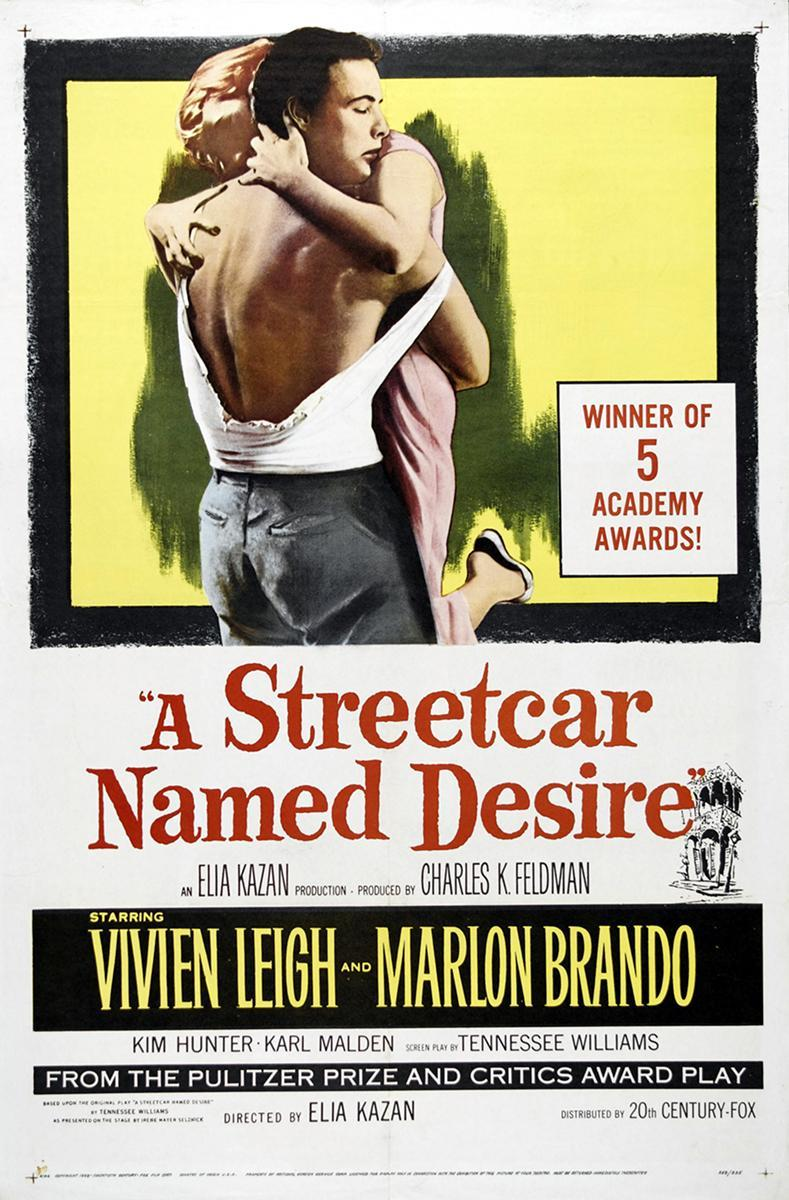 desire streetcar named desire Blanche dubois: why, they told me to take a streetcar named desire and then transfer to one called cemetery and ride six blocks and get off at elysian fields goofs when stanley meets blanche for the first time, and changes his t-shirt, during the conversation, the t-shirt goes from un-tucked to tucked into his pants.