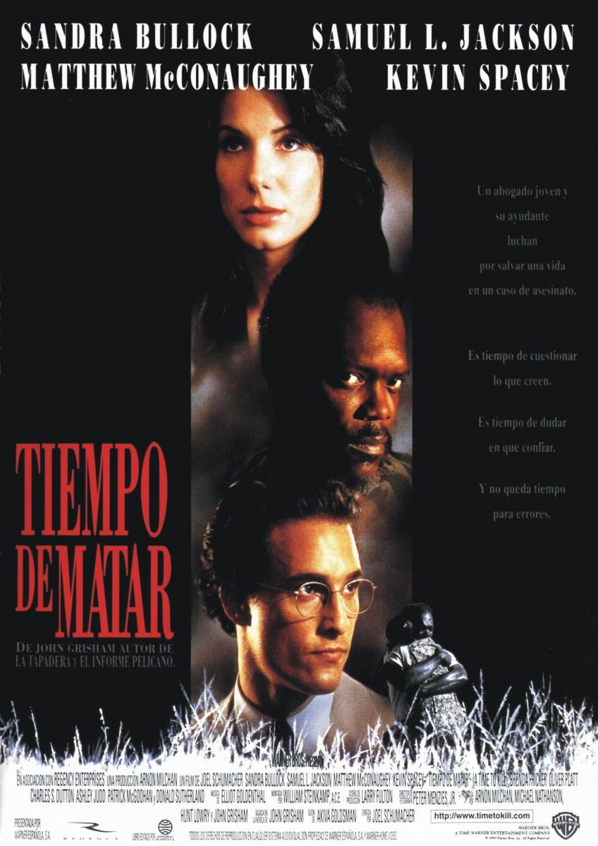 racial tension in a time to kill a movie directed by joel schumacher In july of 1996, joel schumacher's a time to kill was released to theaters, an update of a classic scenario: the sleepy southern town of canton, mi experiences a series of crimes that will expose the thread of racial tension the whole place is hanging on.