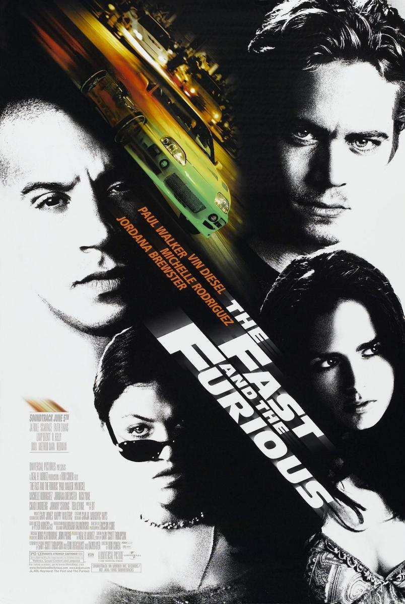 The Fast and the Furious [BD25][Latino]