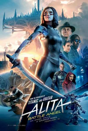 Alita, Battle Angel - el cartel de la película