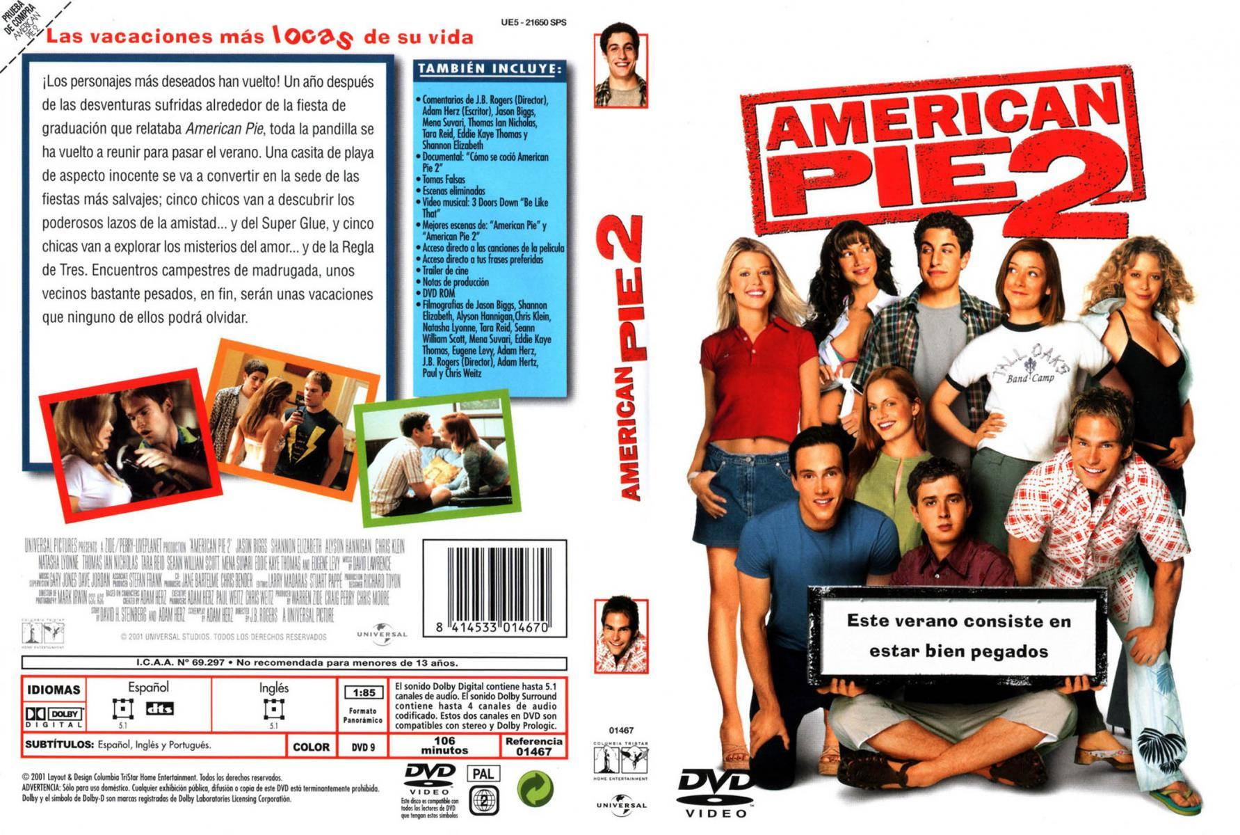 American Pie 2 Español image gallery for american pie 2 - filmaffinity