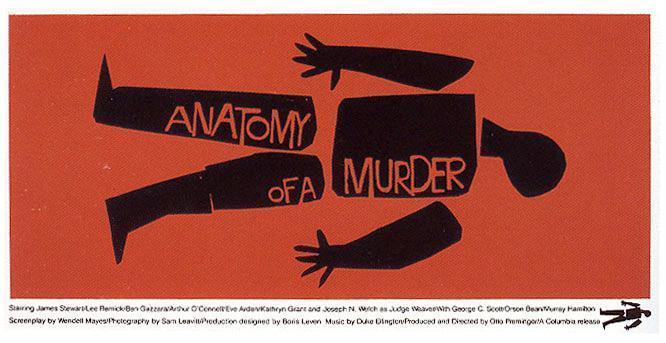 Sección visual de Anatomía de un asesinato - FilmAffinity