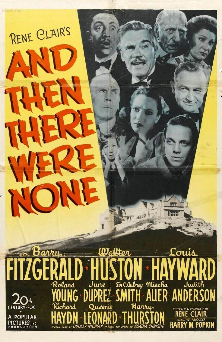 And Then There Were None 1945 Filmaffinity