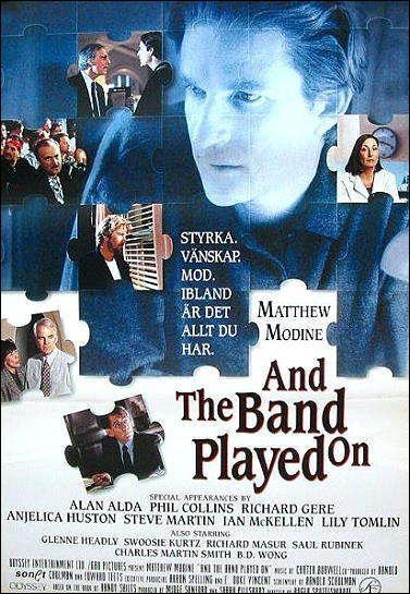 and the band played on movie
