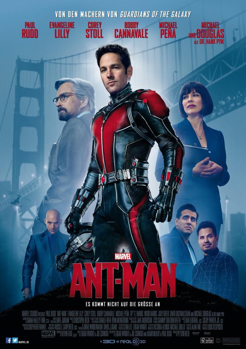 Ant-Man El Hombre Hormiga (2015)[Brrip][Latino][1 Link][MEGA]