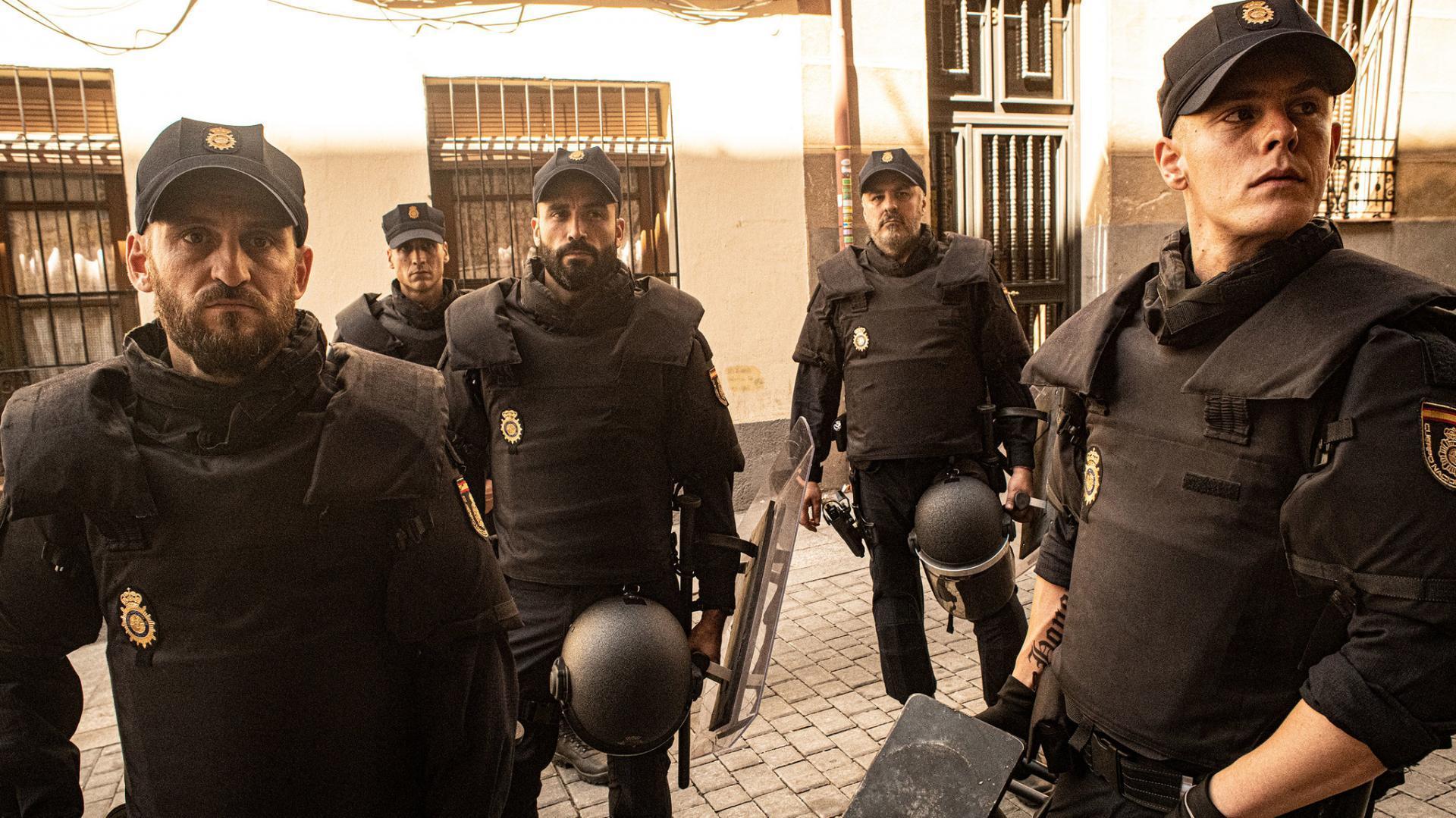 Antidisturbios (Miniserie de TV) (2020) - Filmaffinity