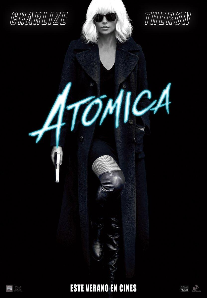 Atómica (BRRip Latino – Ingles 720p) 2017