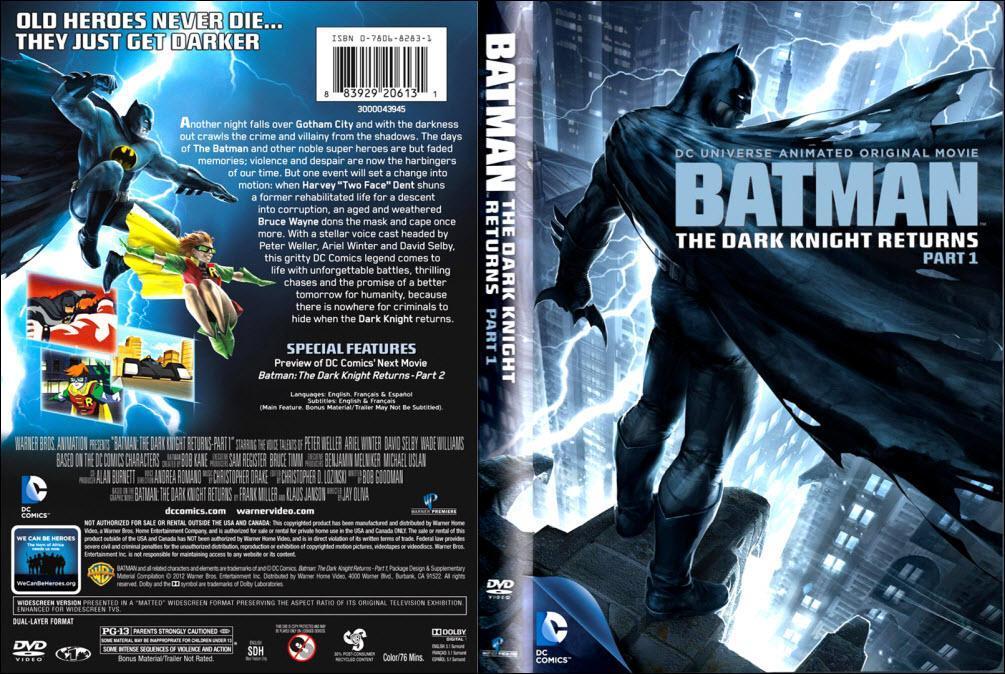 Batman El Regreso del Caballero Oscuro Parte 1