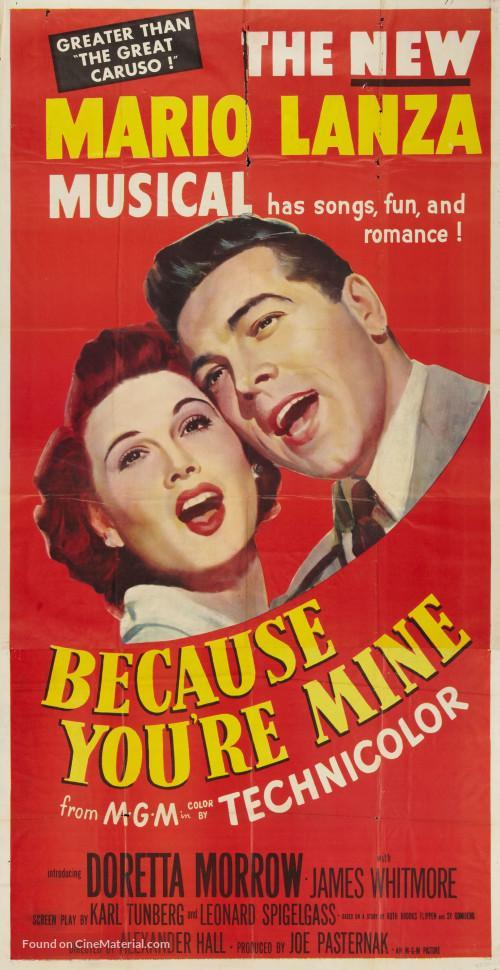 Because You're Mine (1952) - Filmaffinity