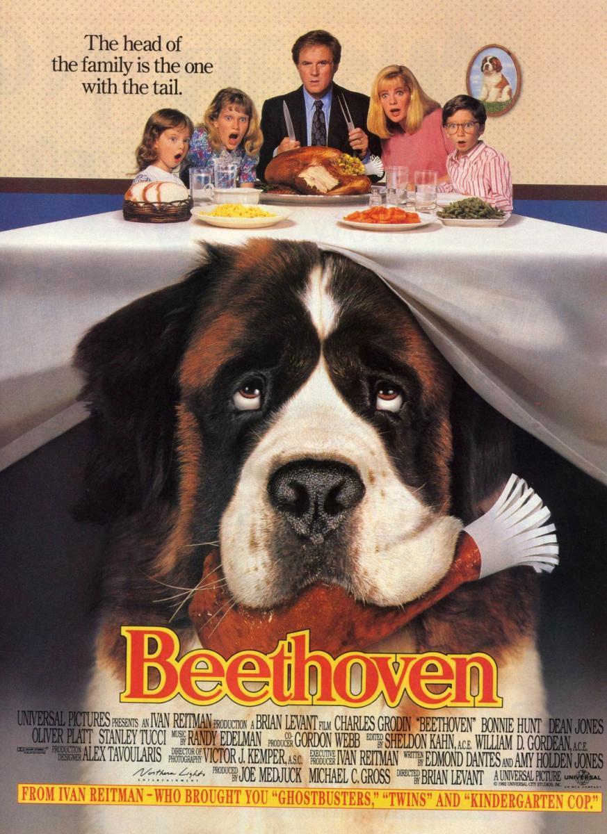 Beethoven (1992) nuestro top 12 de las mejores películas de perros